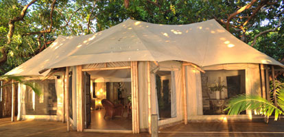 Luxury tents home for Permanent tent cabins